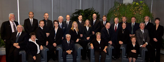Photo of 2011 MMSF Board.